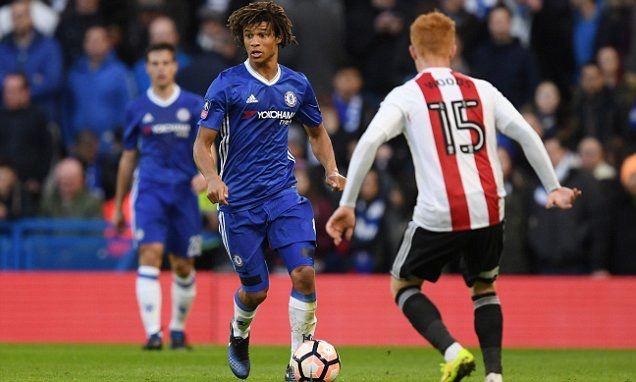 Nathan Aké ~ Chelsea FC vs. Brentford: FA Cup 1/28/2017