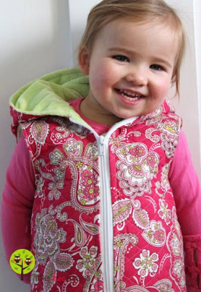 Todder Quilted Vest Tutorial | Go To Sew