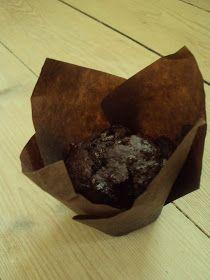 Whole Wheat Banana Chocolate Muffin (6 stk) Uhm, for en chokolade-bombe! Og så endda en sund en! Eller, hvertfald en sundere en, end de fleste andre muffins. Måske er der nogen, der ka...
