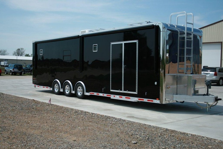 Toters With Enclosed Race Car Trailers