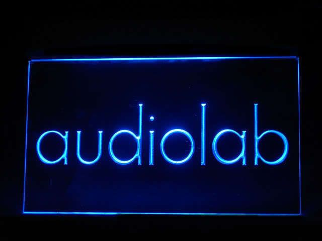 Audiolab LED Light Sign www.shacksign.com