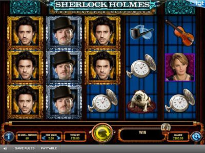 Join Sherlock Holmes through this New IGT Slot - http://freeslots.guru/join-sherlock-holmes-through-this-new-igt-slot/