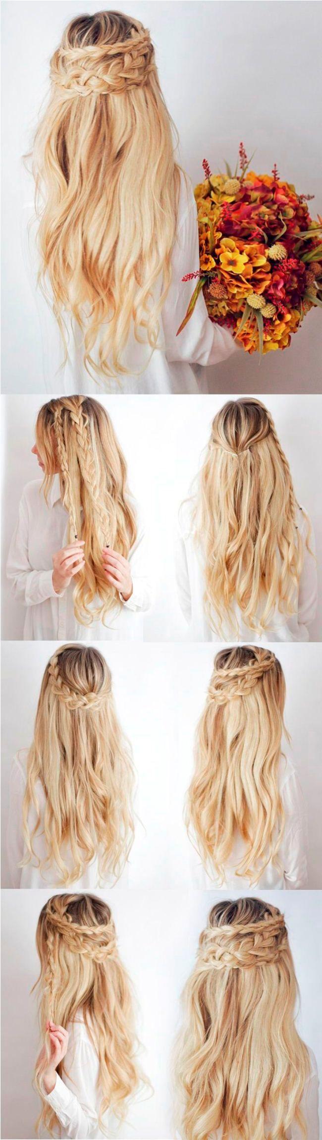 Ich will einfache Party Frisuren für lange Haare Schritt für Schritt wie 2018 tun   – Darla Gutierrez