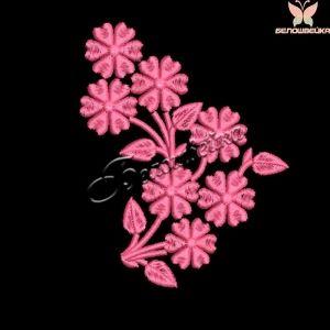 """""""цветочный орнамент"""" дизайн машинной вышивки для маленьких пялец интернет-магазин дизайнов машинной вышивки Ната Белошвейка #beloshveyka #embroidery #designs #wilcom #натабелошвейка #белошвейка"""