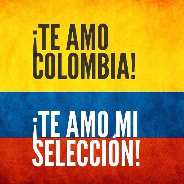 Te amo #SeleccionColombia