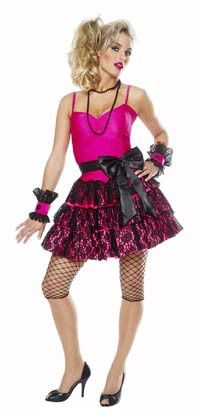 80's Party Girl Women's Costume