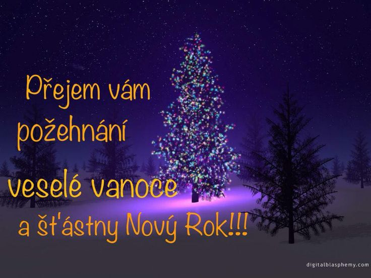 We wish you a blessed, Merry Christmas and a Happy New Year!