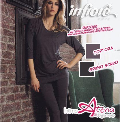 #Pigiama donna Infiore. http://www.abbigliamentointimoatena.com/130-pigiami-donna