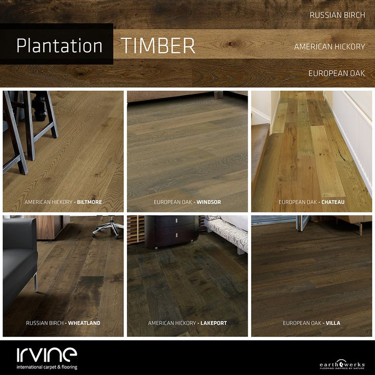 Plantation Timber Range