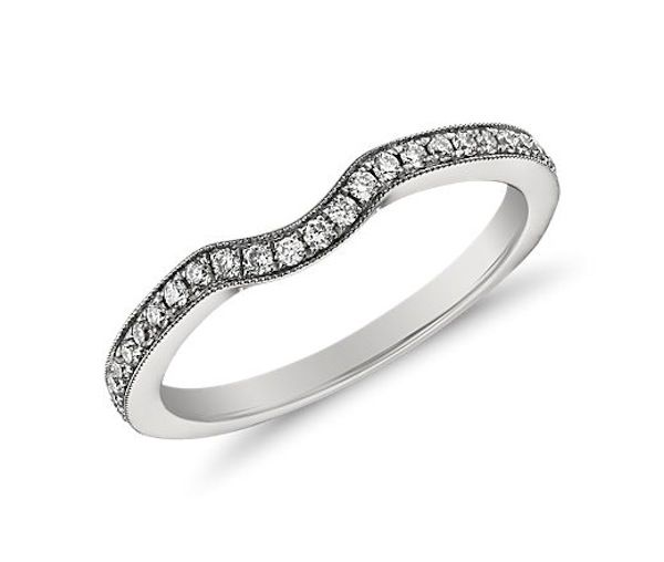 Platinum Wedding Rings From Blue Nile: What's Your Wedding Band Style? - Bridal Musings Wedding Blog