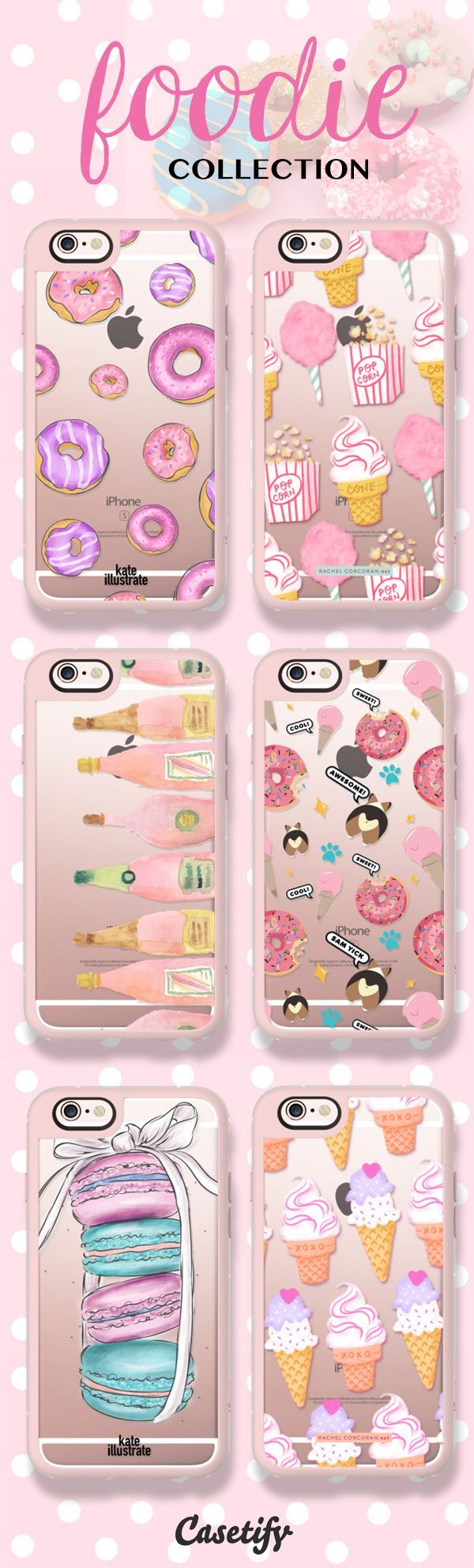 The sweet life.. Shop our newest Foodie Collection here: www.casetify.com/... | @Casetify