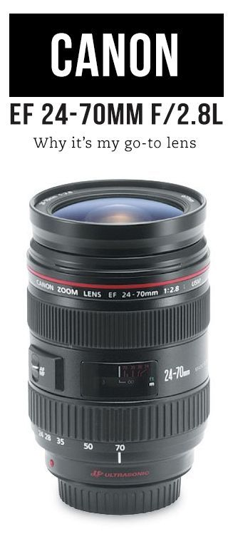 Canon 24-70mm f/2.8 Lens and Alternative Lens Suggestions