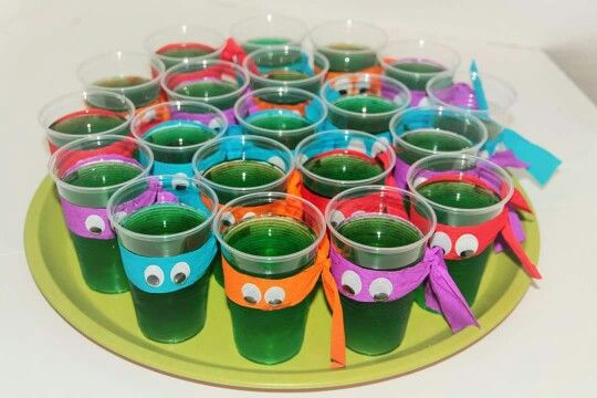Ninja Turtles Wackelpudding