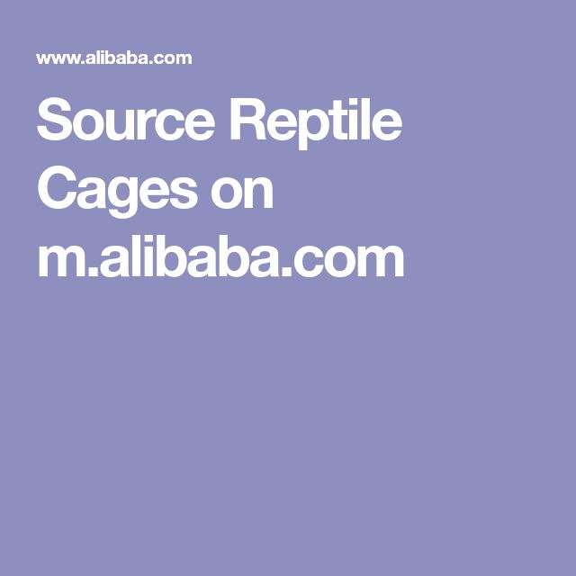 Source Reptile Cages on m.alibaba.com