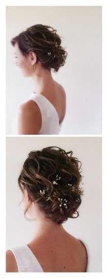 Peinados para novias 2016 con el pelo corto: Fotos (20/42) | Ellahoy