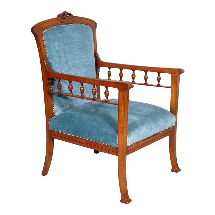 Antique liberty armchair chair