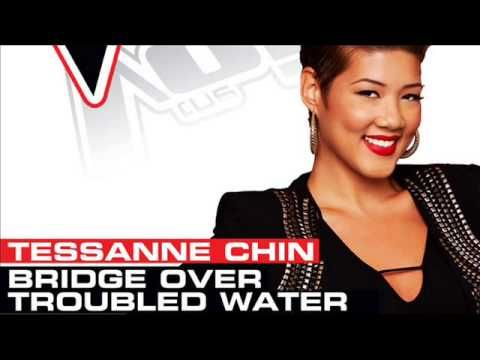 Tessanne Chin - Bridge Over Troubled Water - Studio Version - The Voice ...