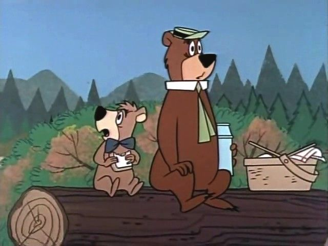 Yogi Bear made his debut back in 1958 as a supporting character on The Huckleberry Hound Show and eventually became more popular than his friend Huckleberry Hound. Created by William Hanna and Joseph Barbera for Hanna-Barbera Productions and was their first breakout character.