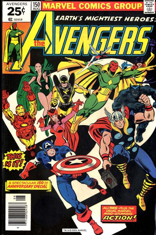 The Avengers 150 Marvel Comics