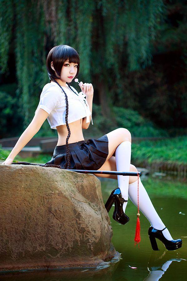 Zone 00 - Mayoko Okino (2) by wooshiyong.deviantart.com on @deviantART --- sweet