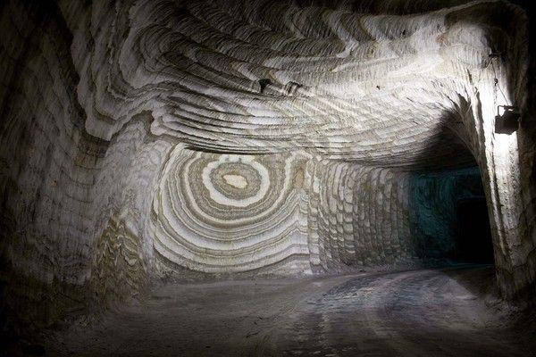 Sicilian salt mines