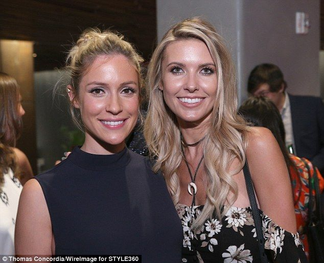 Supportive: Kristin Cavallari is 'obsessed' with her new Prey Swim bikini designed by her former frenemy on The Hills, Audrina Patridge (pictured in 2015)