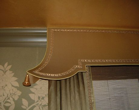 Sybaritic Spaces: Asian vs.Greek Style Pelmets, Cornices and Lambrequins