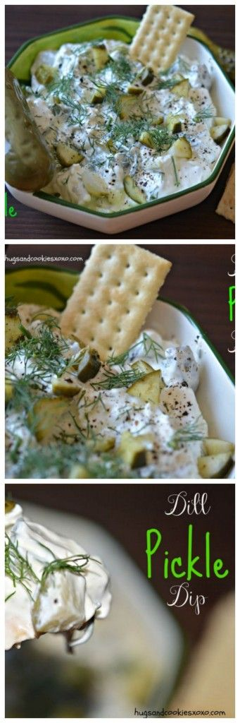 Dill Pickle Dip-This NEEDS to happen on your next hamburger!!!