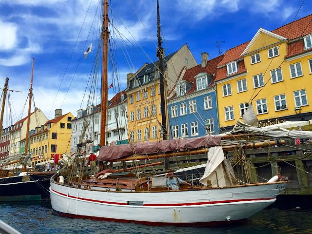 Nyhavn, Copenhagen. Travelling tips for this city are here!