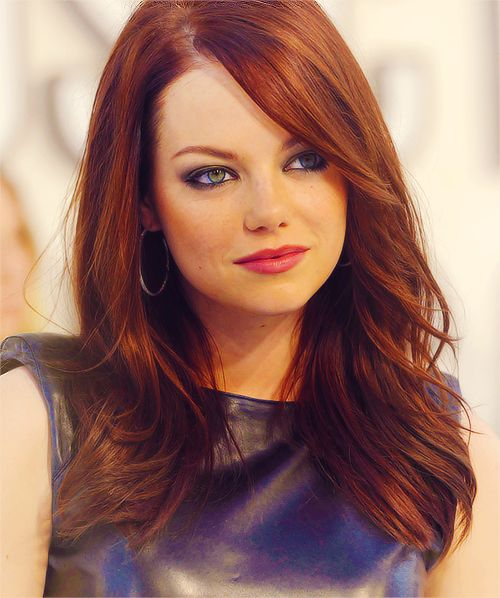 Emma Stone- I love her fashion sense and the way she carries herself on and off the movie screen!