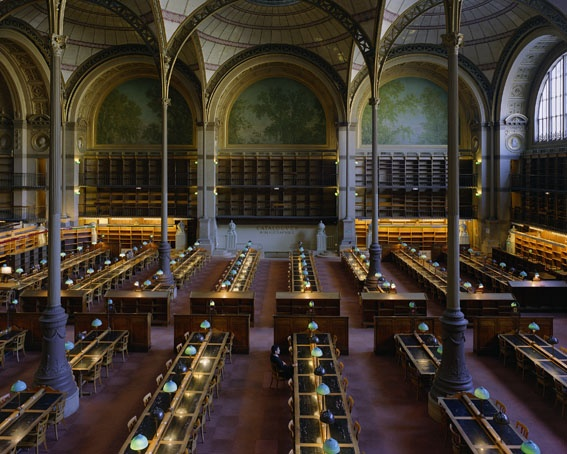 Old National Library In Paris Architecture Design