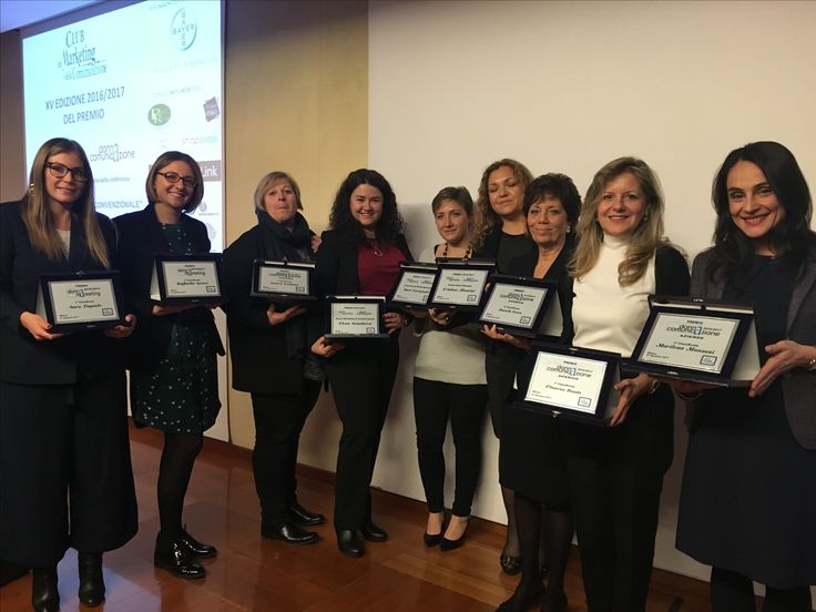 All the winners of donna marketing and comunicazione award