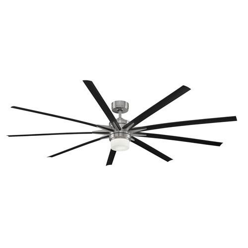 Fanimation Odyn Brushed Nickel 84 Inch LED Ceiling Fan On SALE