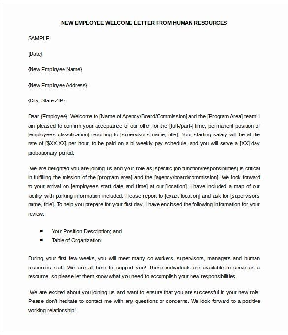 Welcome New Employee Letter from i.pinimg.com