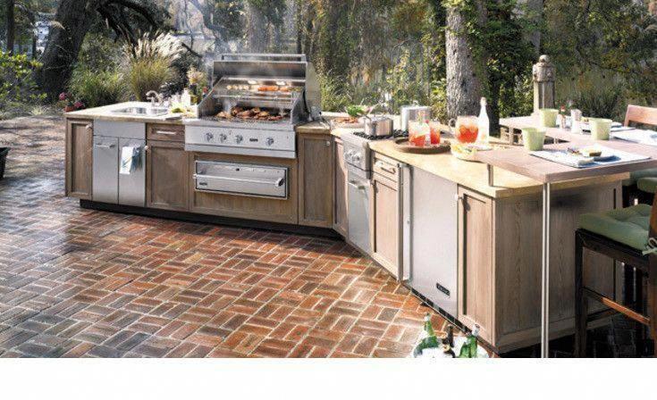 Auf unserer Website finden Sie weitere Informationen zum Grillbereich in der Außenküche