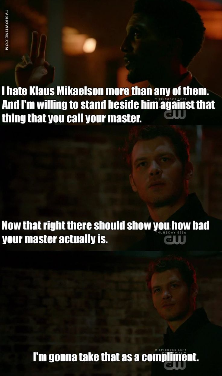 Klaus Mikaelson Quotes 101 Best The Originals Tvd Spin Off Images On Pinterest  The