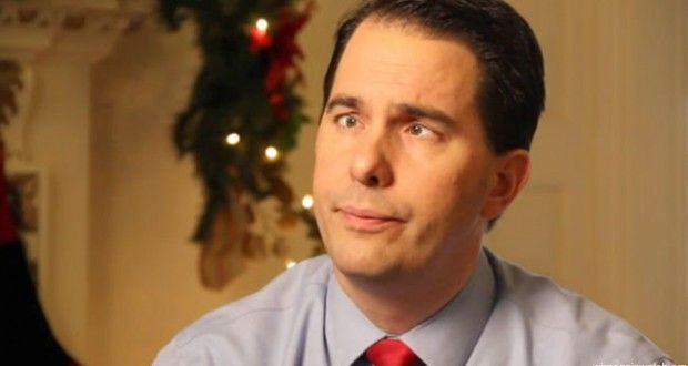 Judge Smacks Down Scott Walker, Rules Him in Contempt of Court for Preventing Collective Bargaining