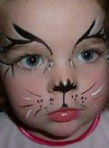 Image result for kitty cat face painting designs for kids