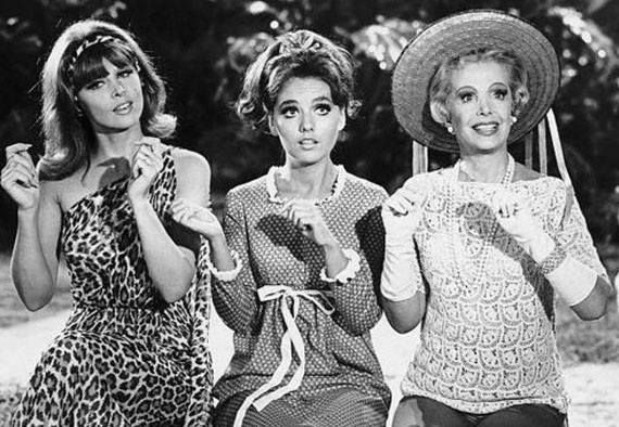 Ginger, Mary Ann, and Mrs. Howell - Gilligan's Island