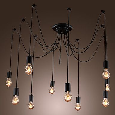 Artistic Chandeliers with 10 Lights Bulbs Design - AUD $ 332.57