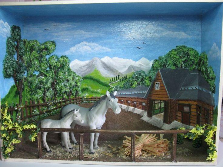 Quadretto con cavalli 2