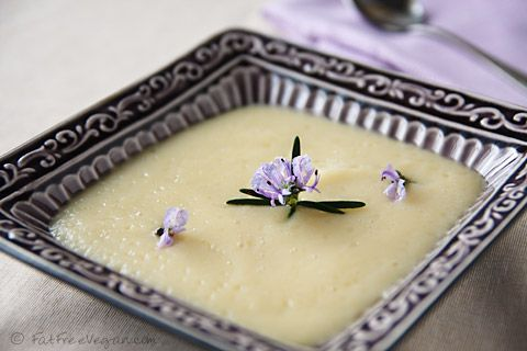 Creamy Celeriac Soup: The creaminess of potatoes with the flavor of celery! Make it quickly in your pressure cooker.