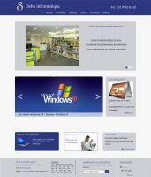 Delta Informatique, Magasin d'informatique à Vannes  Delta Informatique, entreprise vannetaise depuis plus de 20 ans, est spécialisé dans la vente et le dépannage de matériel informatique, nous a confié leur projet de création de site internet.
