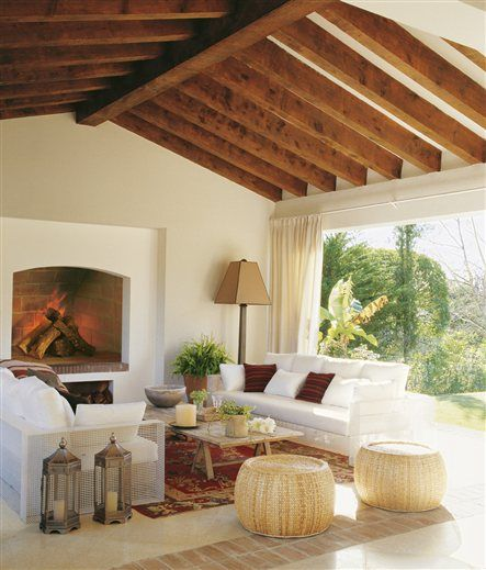 Serena y volcada al jardín · ElMueble.com · Casas