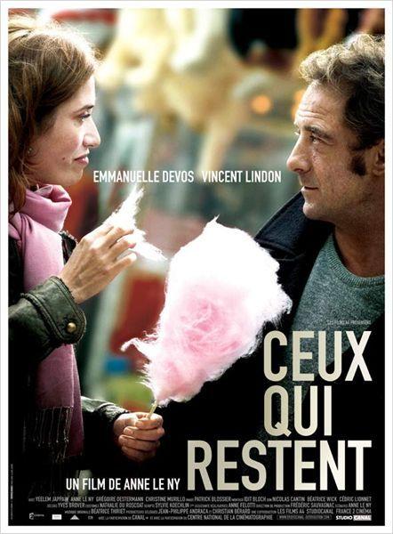 Ceux qui restent : affiche Anne Le Ny, Emmanuelle Devos, Vincent Lindon