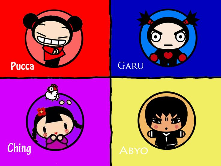 Cartoon Characters That Start With E : Best images about pucca garu on pinterest cartoon