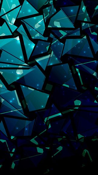 Abstract Shattered Glass IPhone 5S SE Wallpaper