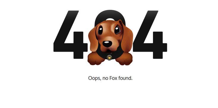 Erreur 404 exemple webdesign