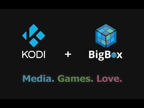 Kodi Games Library with Big Box - YouTube