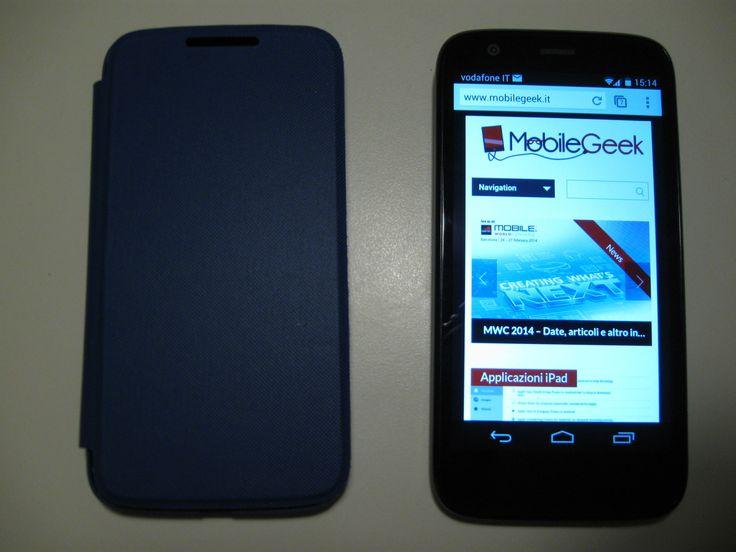 [Recensione] Custodia Flip originale Motorola Moto G